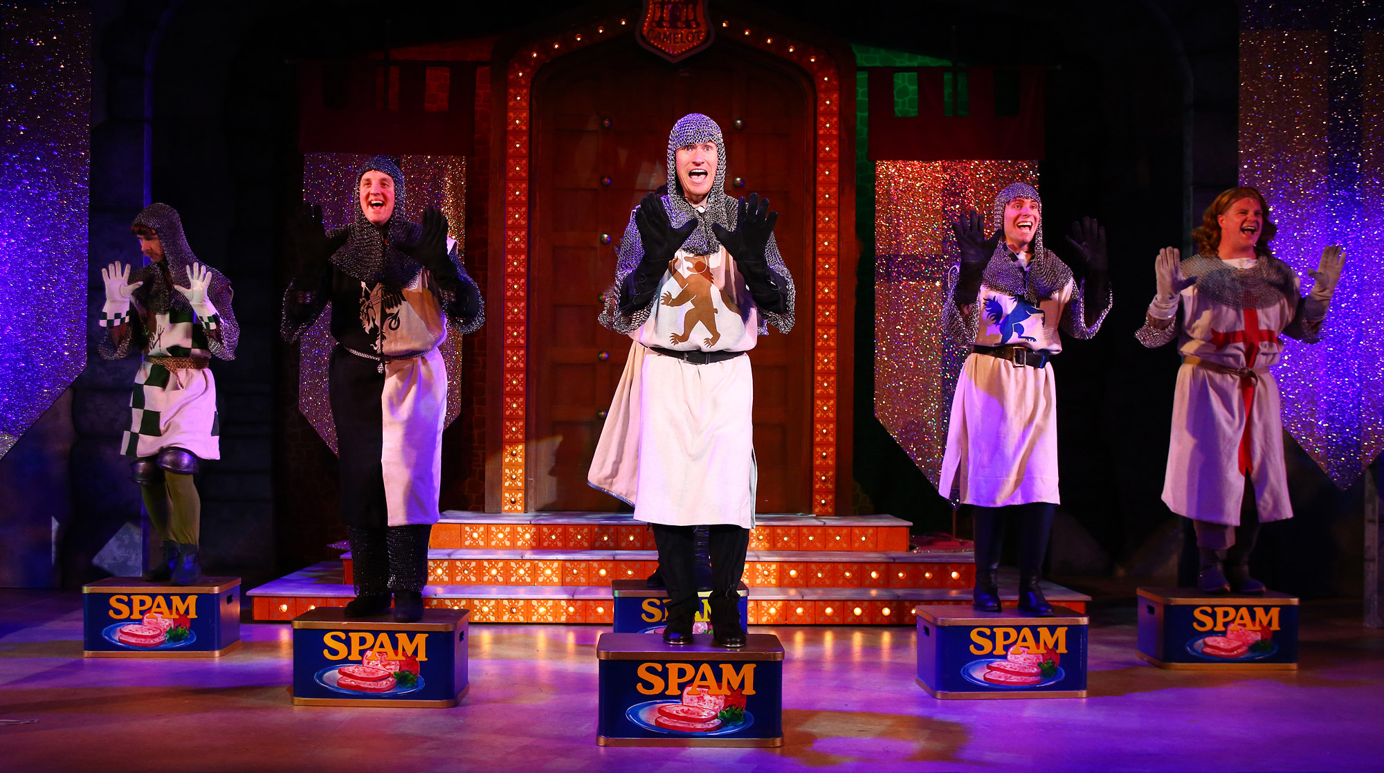 Selladoor Productions Present Monty Pythons U0027Spamalotu0027 With Its Dancing  Knights Of The Round Table