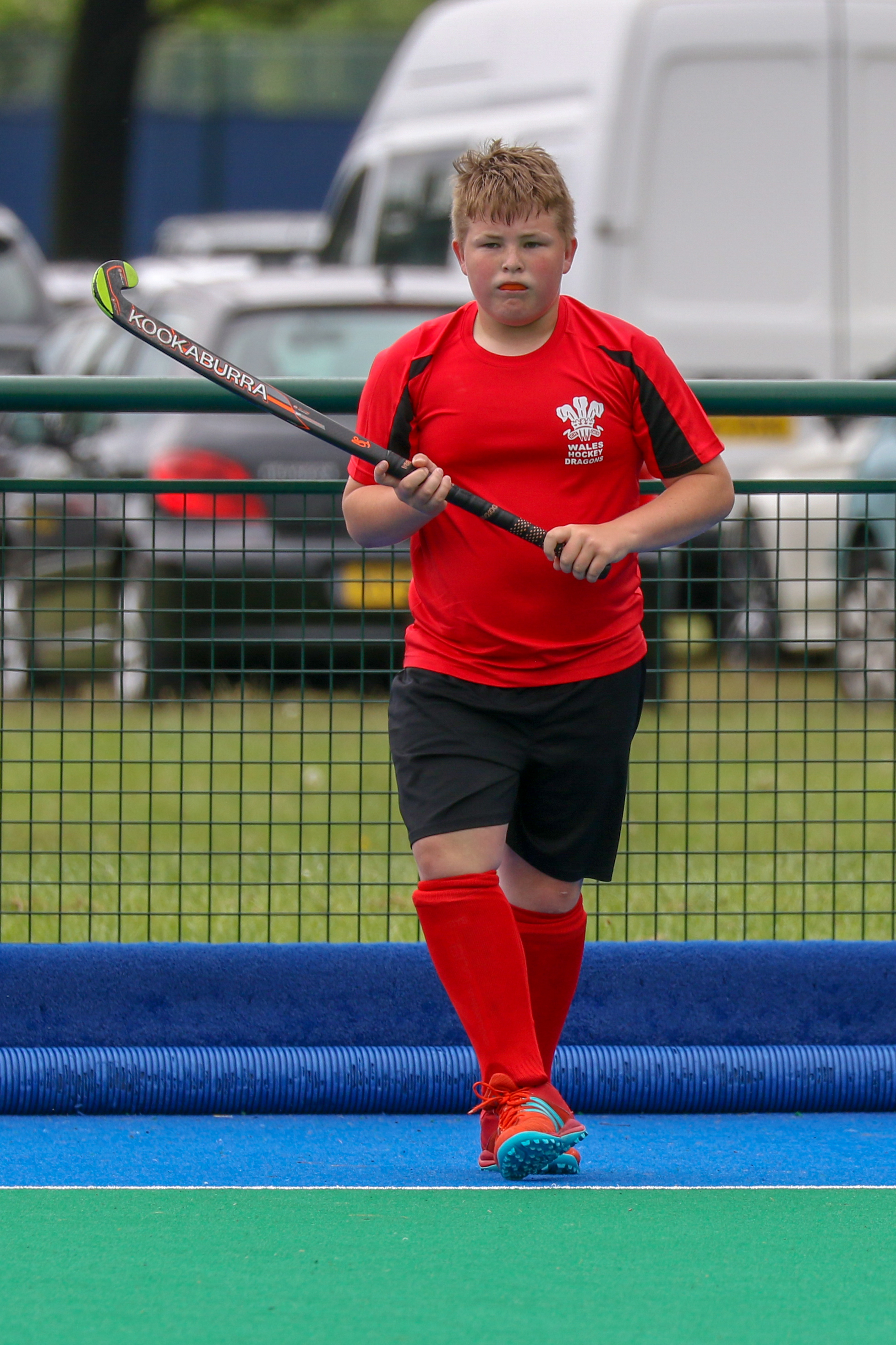 Toby Williams from Caersws was selected to represent under 13s Welsh Dragons Hockey at a tournament in Nottingham.