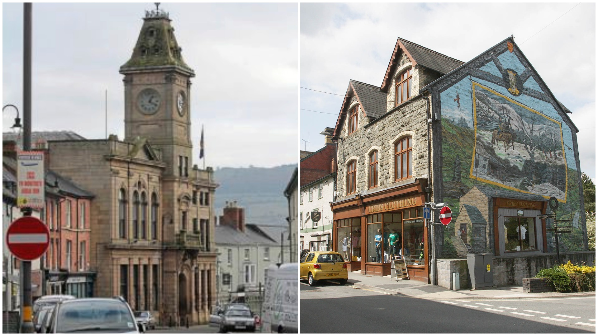 Welshpool and Builth Wells are in the top 10 places to live according to the Royal Mail.