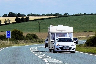 Police to seize unsafe caravans on the roads to Royal Welsh Show