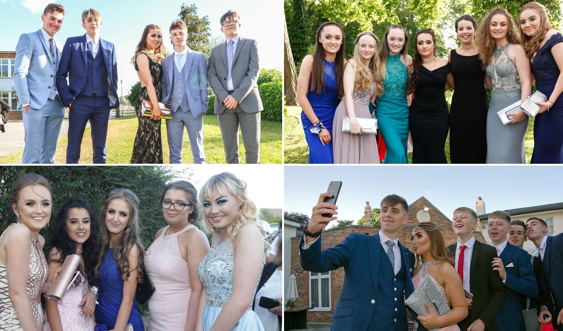 Prom Pictures 2018: Link to all pictures from Wrexham and Flintshire schools