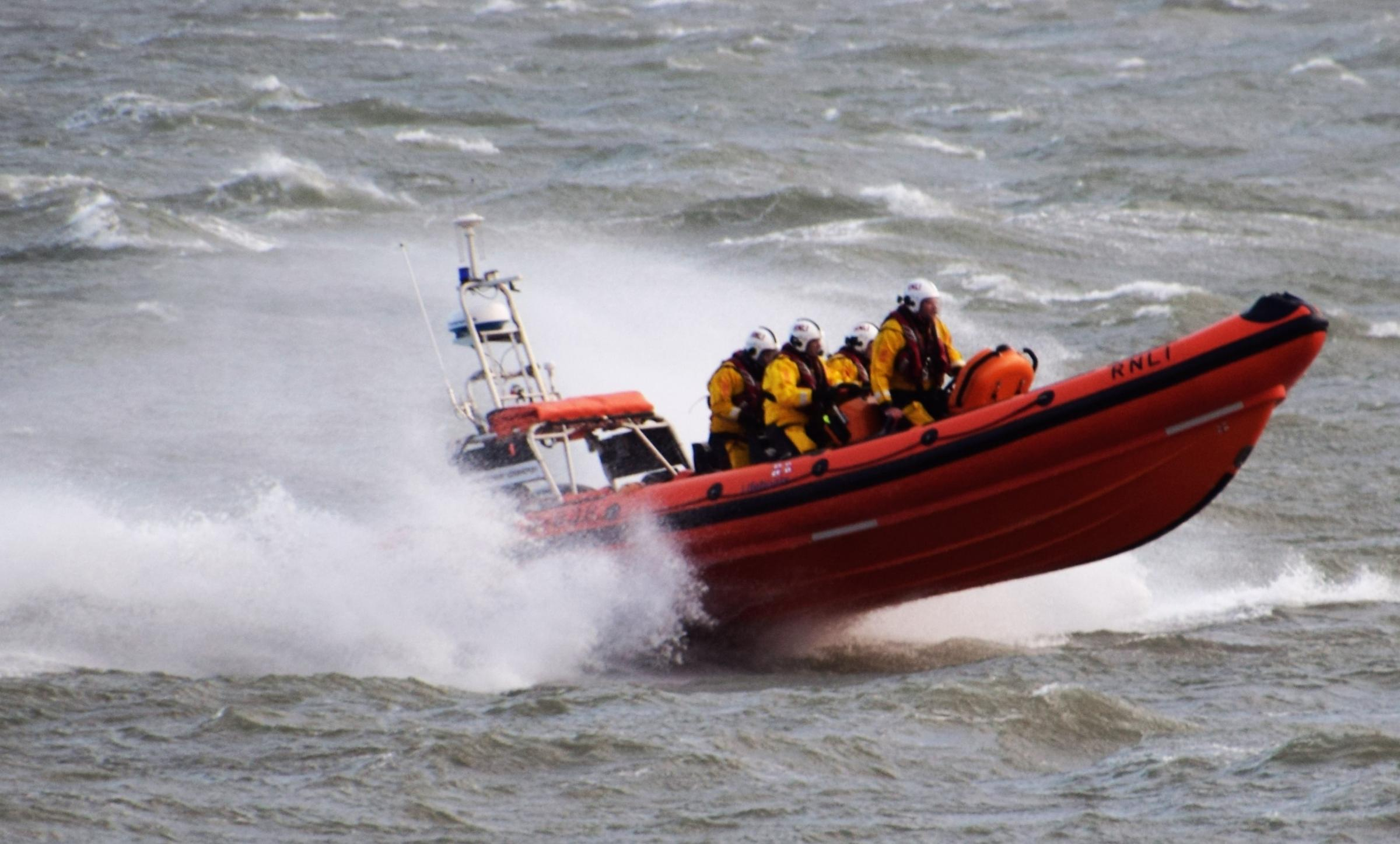 Pictured: The Beaumaris Lifeboat. Picture by Dave Burke.
