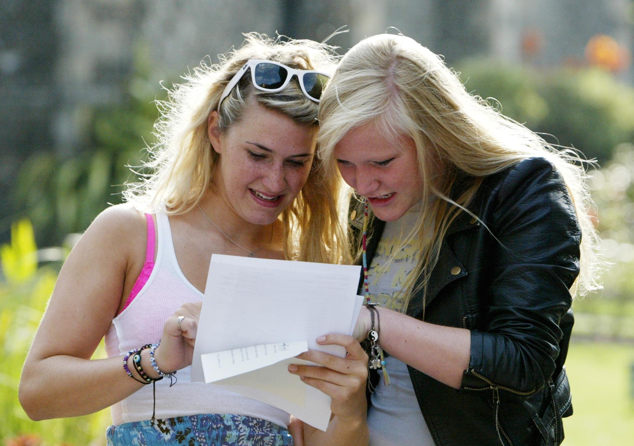 Students will collect GCSE results tomorrow. Gareth Fuller/PA Wire