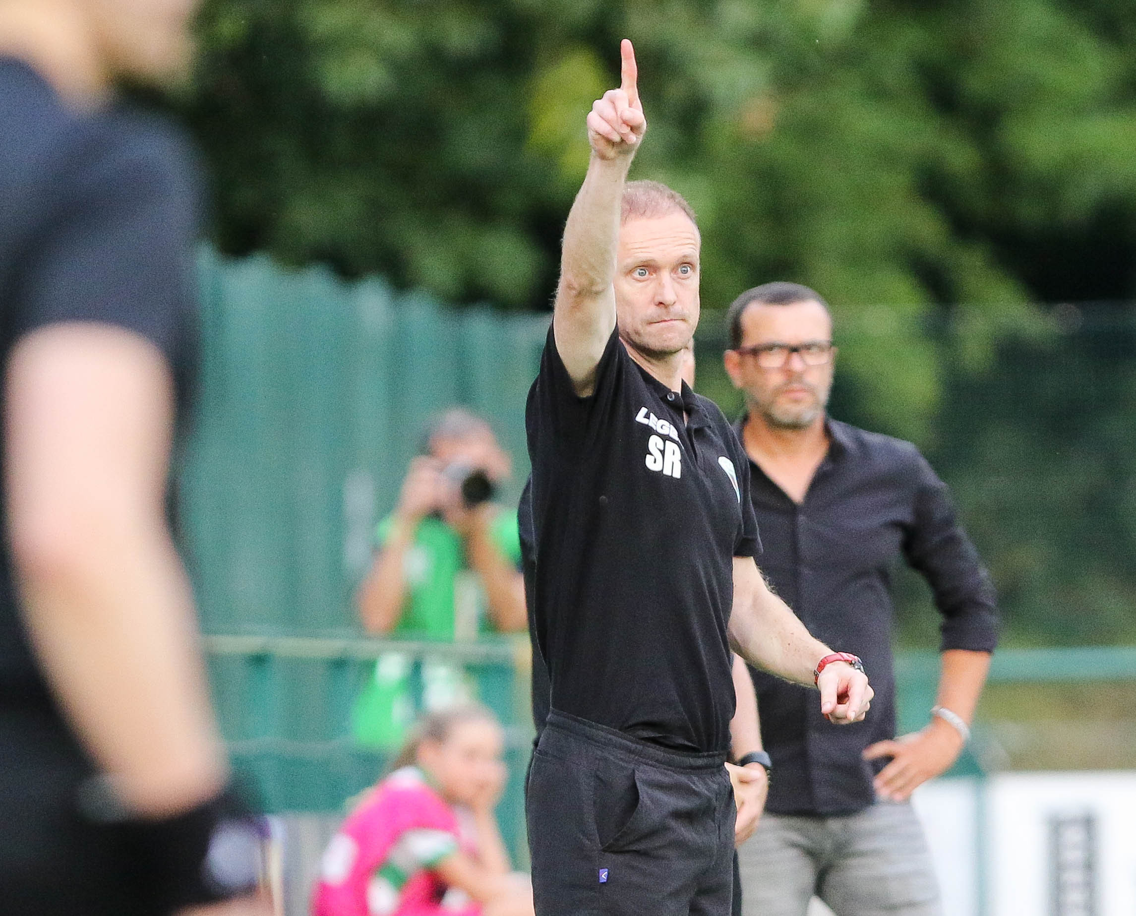 UEFA Europa League 2nd Qualifying Round..The New Saints v Lincoln Red Imps FC..TNS 2-1 Lincoln Red Imps..Pictured is TNS Manager Scott Ruscoe..Picture by Phil Blagg..PB401-2018-48.