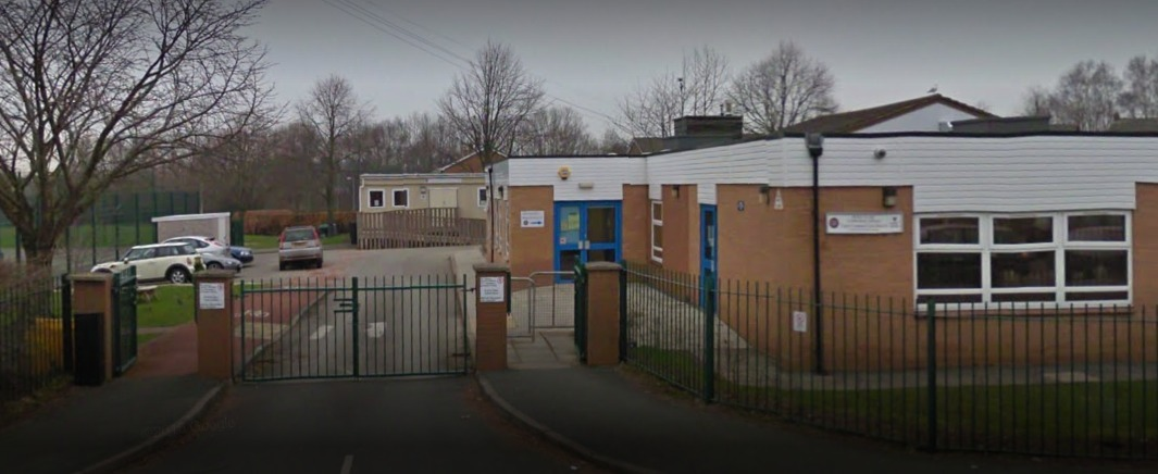 Barker's Lane CP School in Wrexham. Source: Google Street View