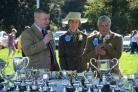 Chris Davies MP hands out awards at last year's show