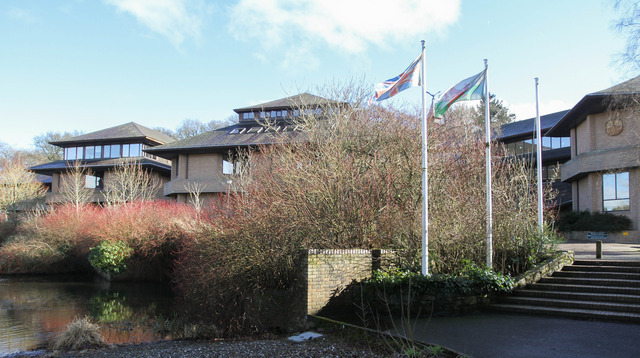 PB048-2014-2.picture by Phil Blagg.County Hall Powys County Council Offices, Llandrindod Wells.