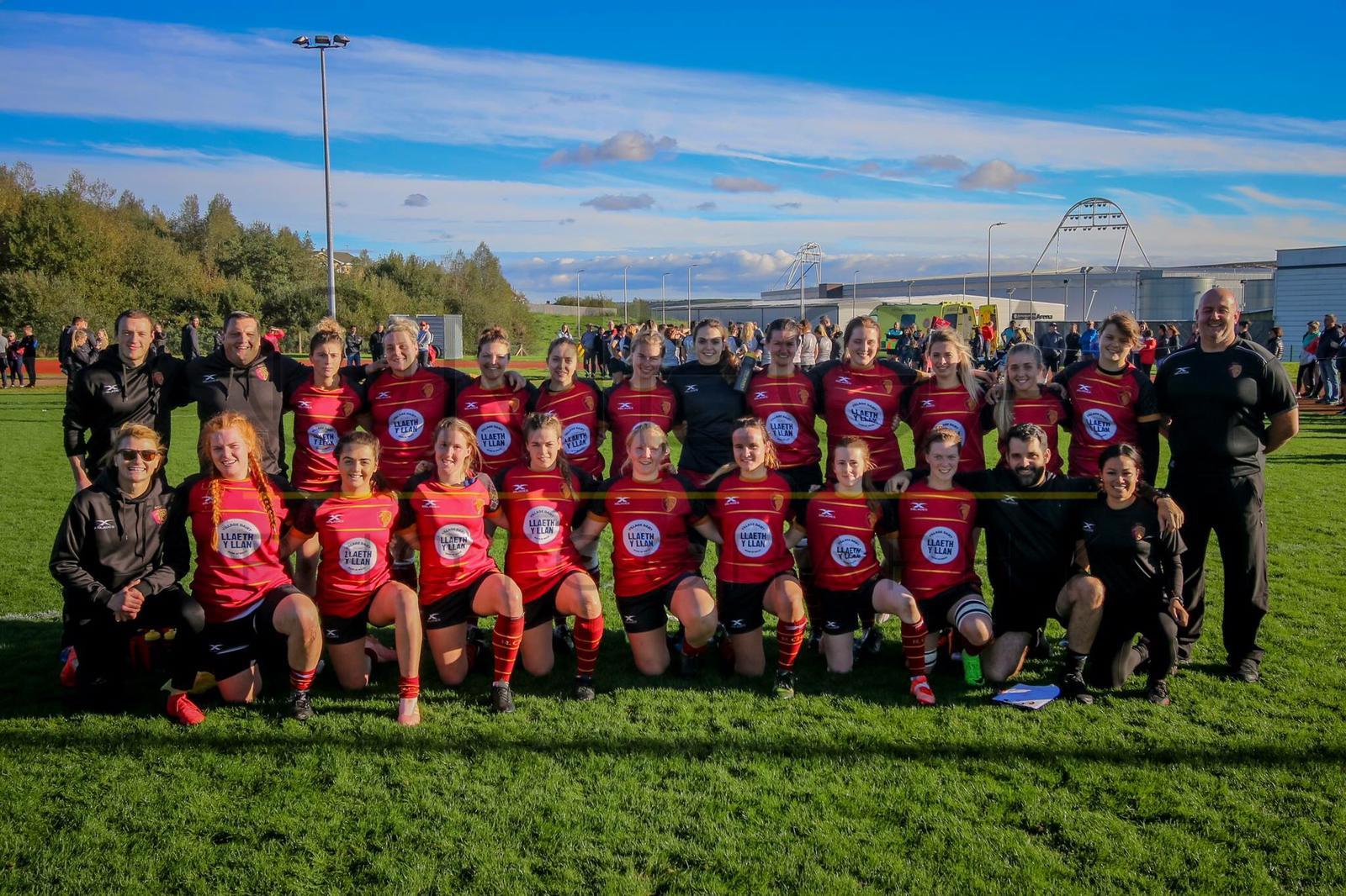 RGC Women in Llanelli on Sunday.