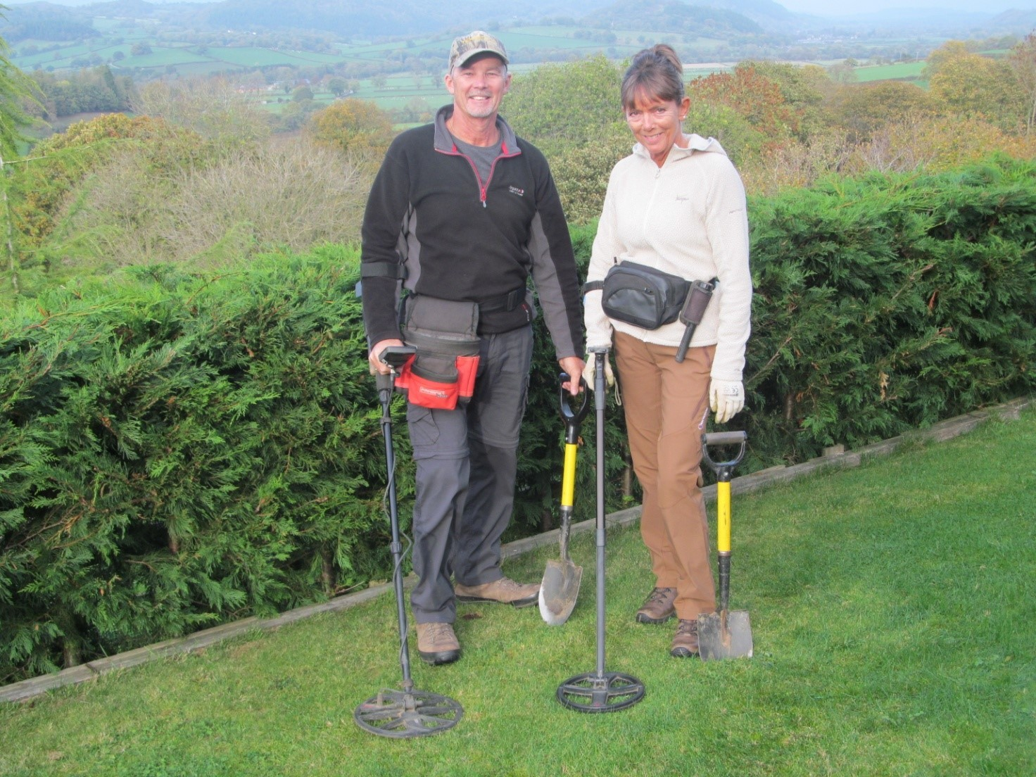 Mike and Trish will talk about metal detecting at the Meifod History Group's first meeting of 2019