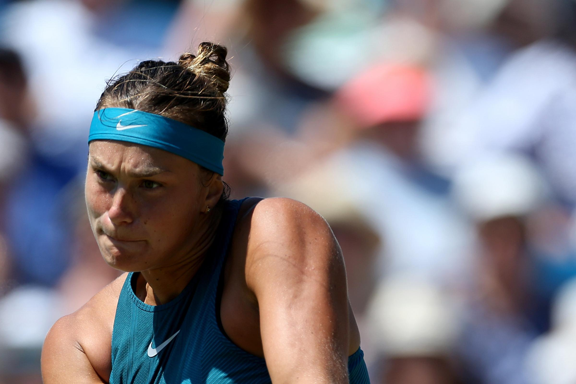 Aryna Sabalenka is one of the hottest young talents in tennis