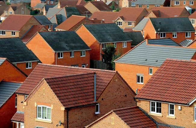 Empty homes. Photo: Press Association, PA Wire.