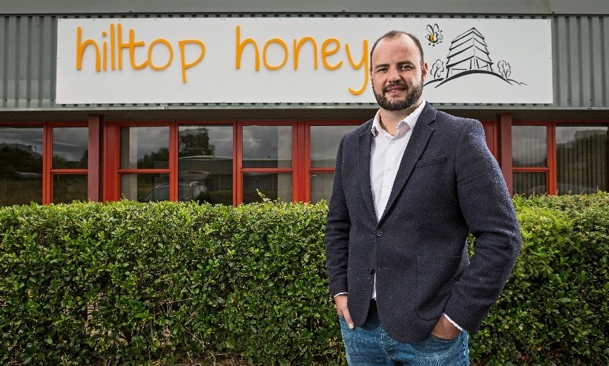 Scott Davies, Managing Director of Hilltop Honey.