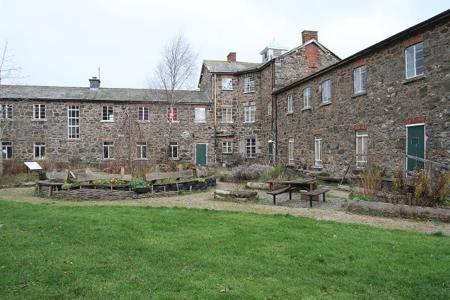 PB007-2014-6.Picture by Phil Blagg.Workhouse Llanfyllin.