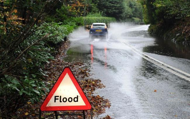 Flood alert issued for parts of Powys