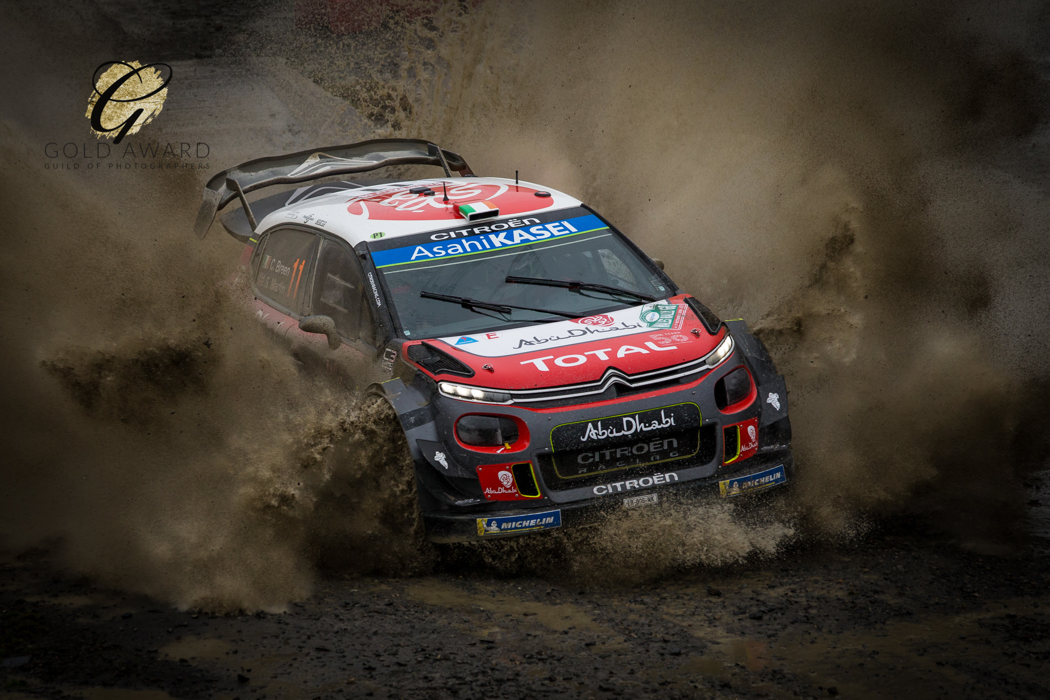 Llanidloes man's Rally GB photo wins Guild of Photographers competition