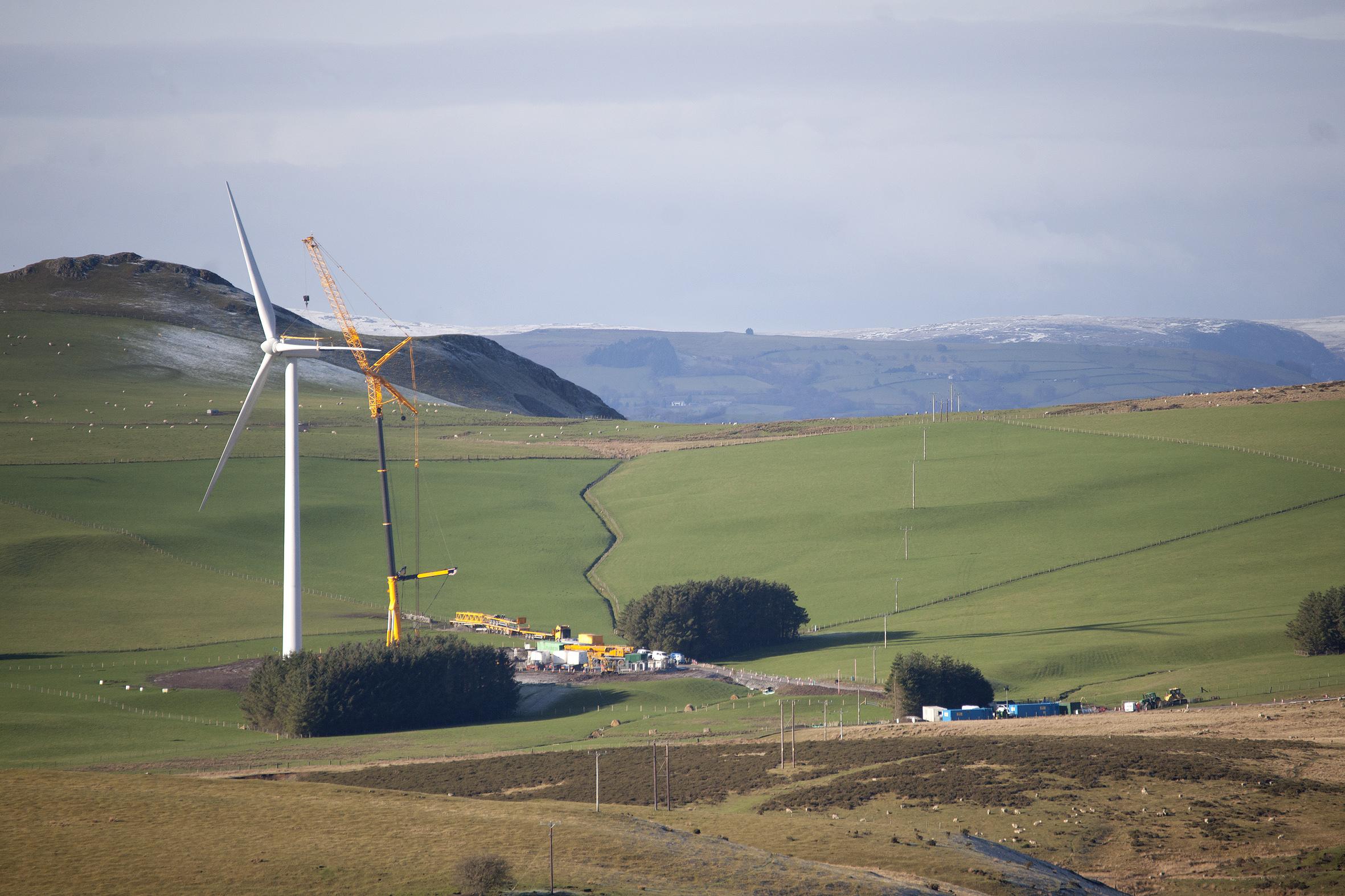 Llandrindod Wells: 'Absoluter horror' as Hendy Wind Farm fight is lost