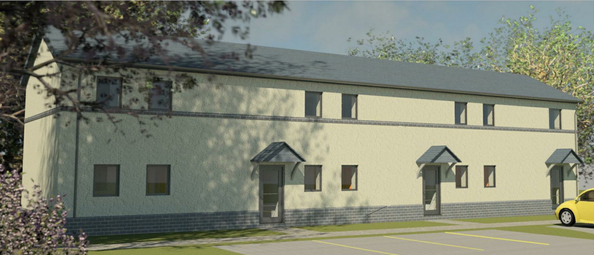 the first Passivhaus Certified affordable homes in Powys and possibly Wales.