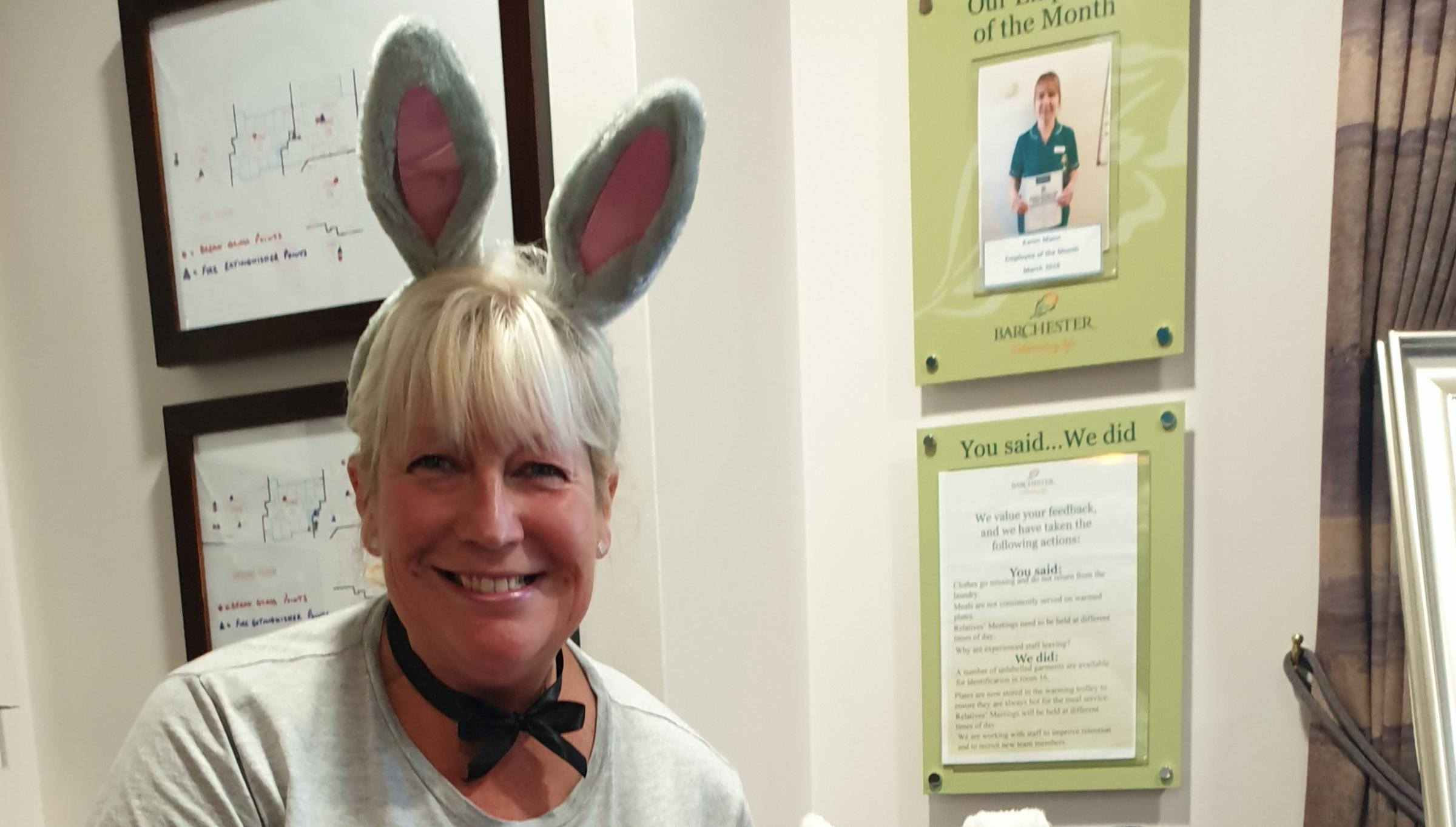 Easter celebrations at Welshpool care home