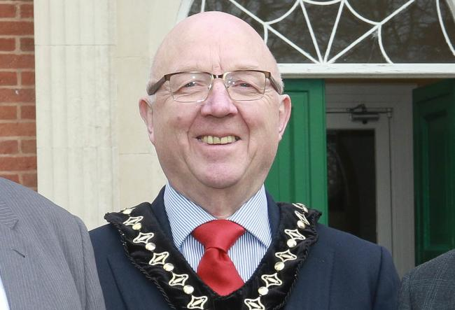 Cllr David Meredith former chair of Powys County Council. Picture: Phil Blagg/County Times
