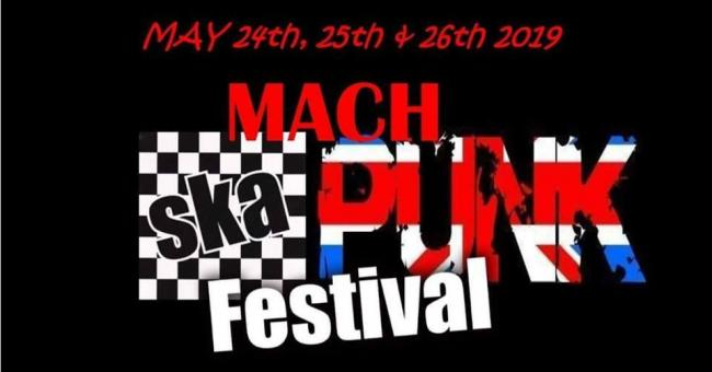 Mach Ska and Punk Festival.