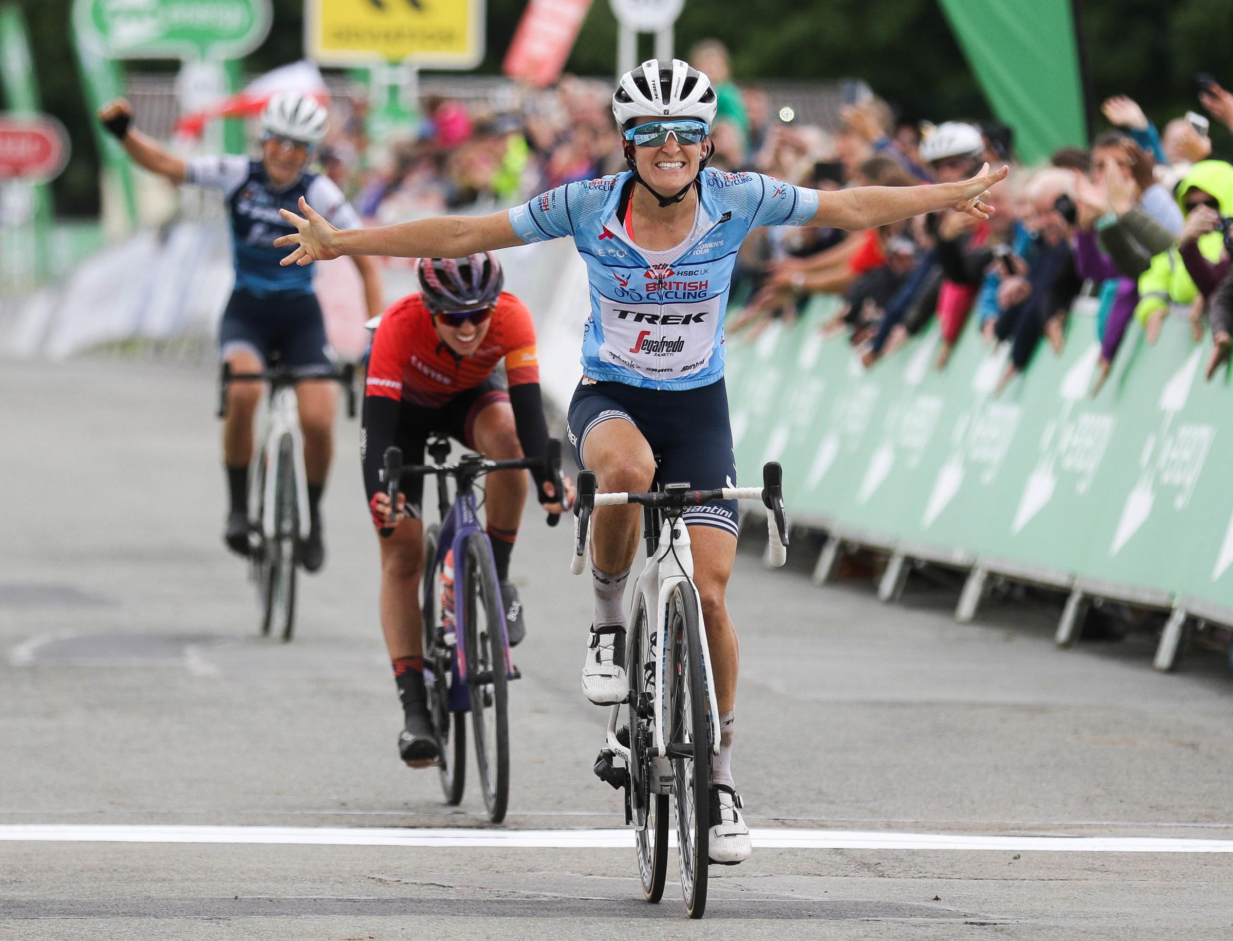 OVO Energy Women's Tour 2019: British rider claims stage 5 victory at Royal Welsh Showground
